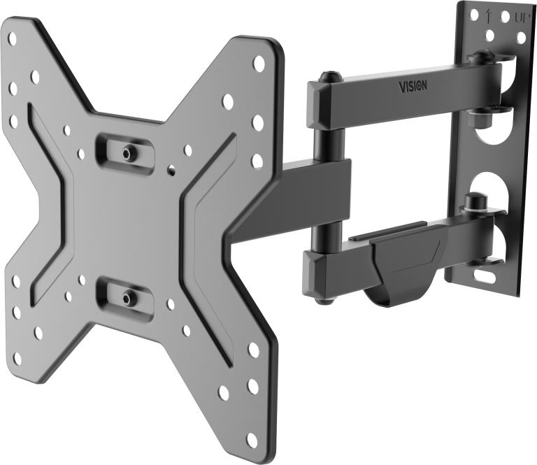 "Vision VFM-WA2X2 40"" Black flat panel wall mount"
