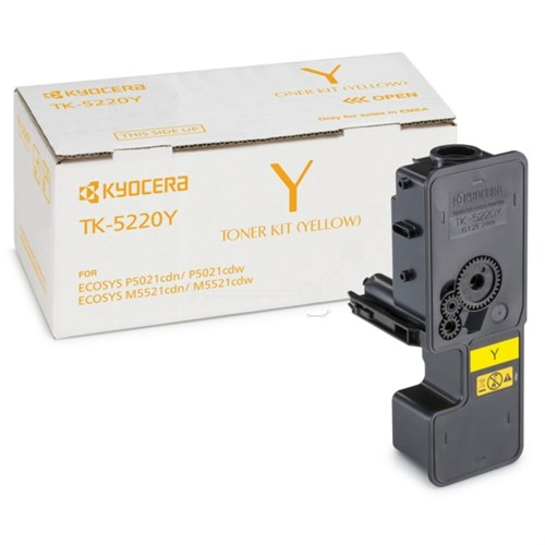 KYOCERA 1T02R9ANL1 (TK-5220 Y) Toner yellow, 1.2K pages