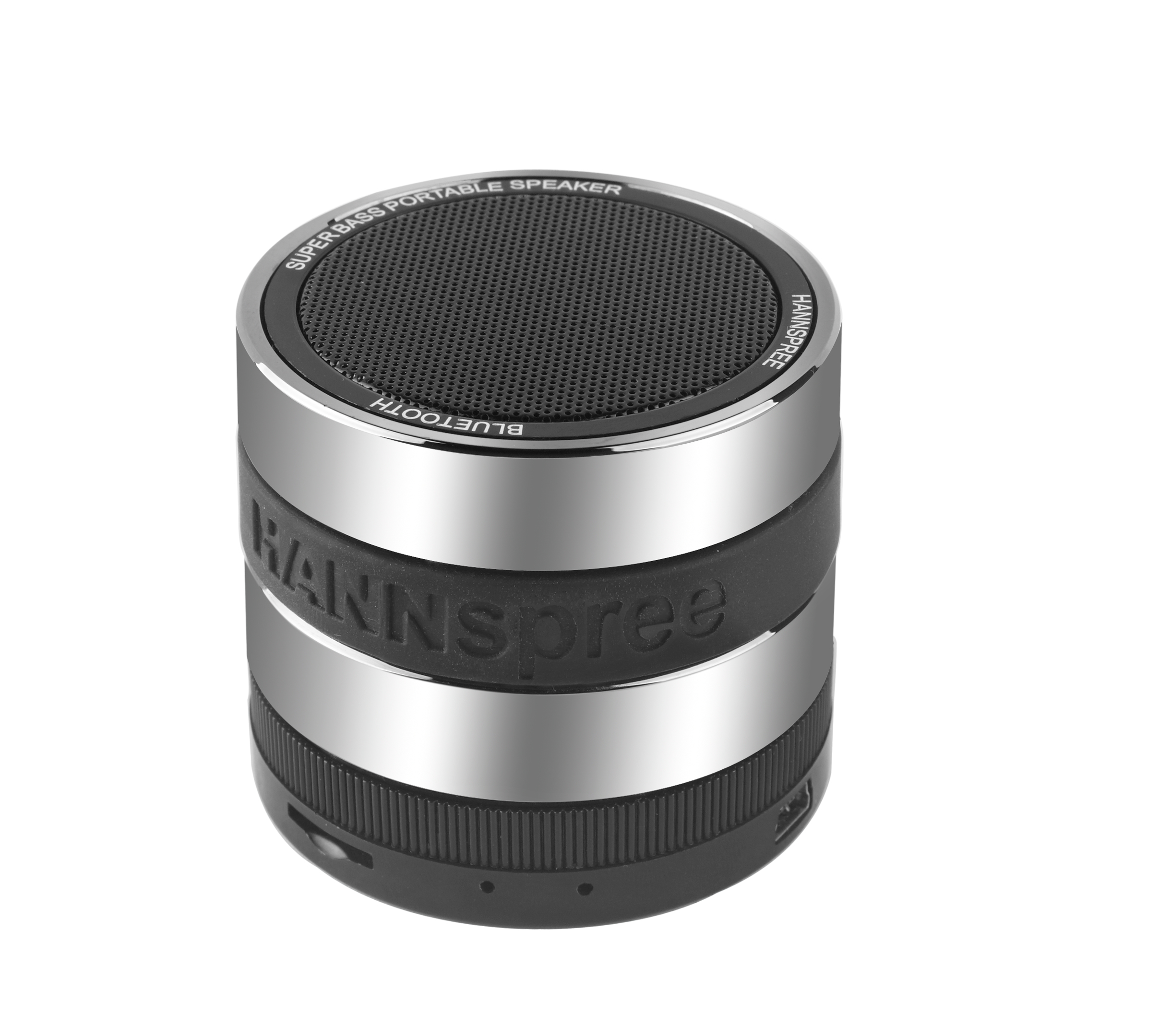 Hannspree Fortissimo Stereo 3W Cylinder Black,Grey