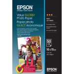 Epson Value Glossy Photo Paper - 10x15cm - 50 Vellen