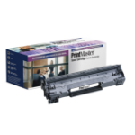 PrintMaster Black Toner Cartridge for HP LaserJet P1566, P1606, Canon LBP-6200