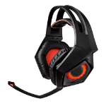 ASUS ROG Strix Wireless Binaural Head-band Black, Orange headset
