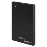 "Lian Li EX-10QB 2.5"" USB powered Black HDD/SSD enclosure"