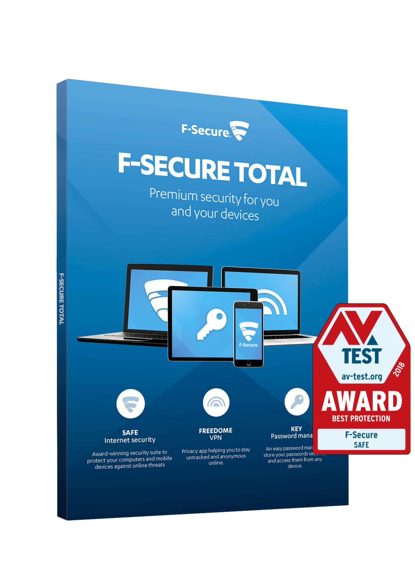F-SECURE Total Security and Privacy 1 year(s) Multilingual