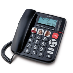 Emporia KFT19 telephone Analog telephone Black Caller ID