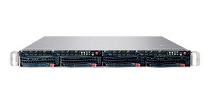 Superserver Twin Sys-6015tw-TB 1u Intel 64-bit Xeon Quad/ Dual-Core 8DIMM SATA 980w Black