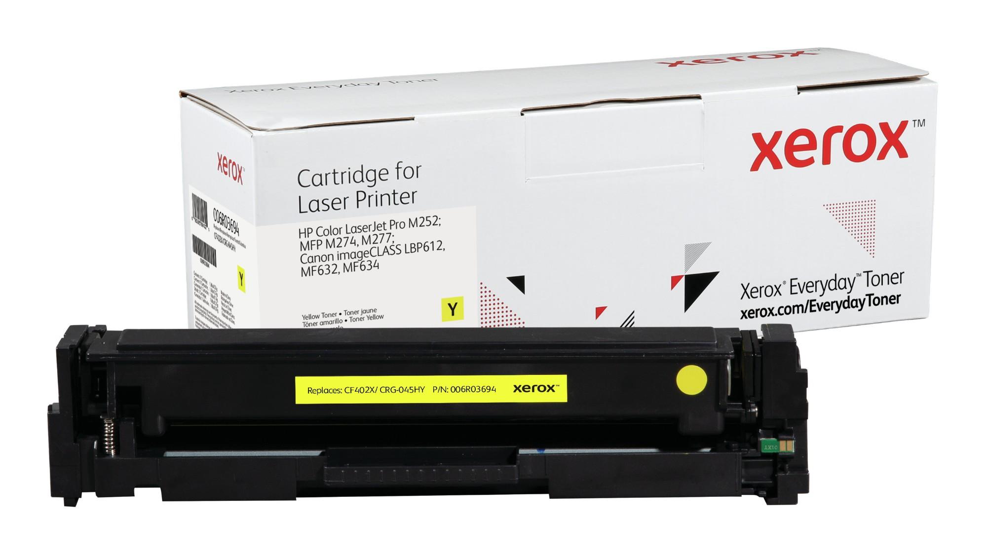Xerox Tóner de Alto rendimiento Amarillo Everyday, HP CF402X/ CRG-045HY equivalente de , 2300 páginas