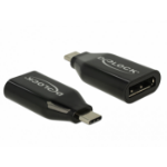 DeLOCK 62977 cable interface/gender adapter USB Type-C Displayport Black