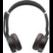 Jabra Evolve 75 MS Stereo Binaural Diadema Negro, Rojo