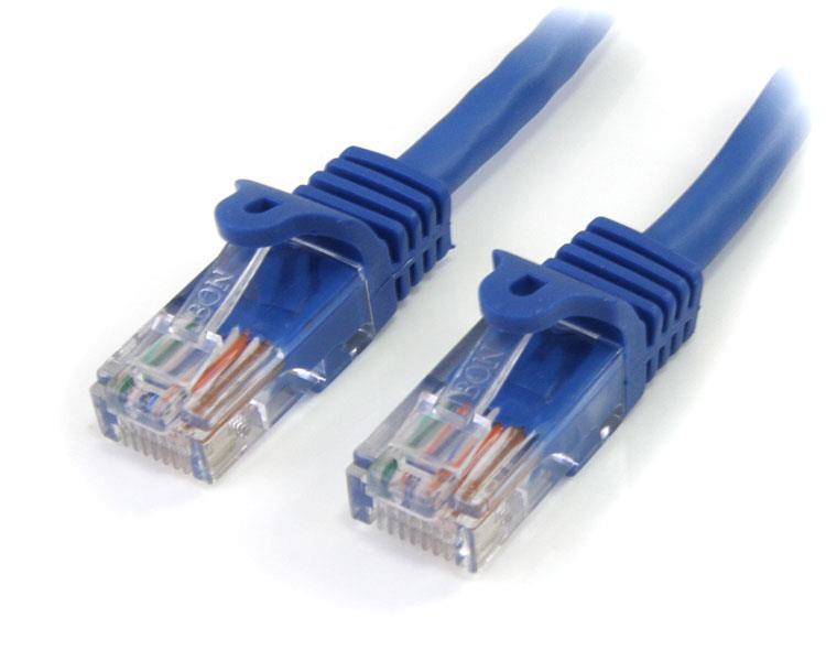StarTech.com 4 ft Cat5e Blue Snagless RJ45 UTP Cat 5e Patch Cable - 4ft Patch Cord