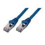 MCL 3m Cat6a S/FTP cable de red S/FTP (S-STP) Azul