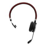 Jabra Evolve 65 MS mono Headset Hoofdband Micro-USB Bluetooth Zwart