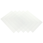 Fellowes Value PVC Covers Clear 80micron A4 6500501 (Pk100)