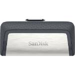 Sandisk Ultra Dual Drive USB Type-C 64GB 3.0 (3.1 Gen 1) USB Type-A connector USB Type-C connector Black, Silver USB flash drive
