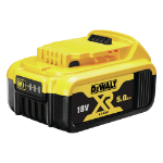 DeWALT DCB184-XJ industrial rechargeable battery Lithium-Ion (Li-Ion) 18 V