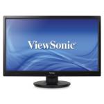 "Viewsonic A Series VA2446m-LED 24"" Full HD Black computer monitor"