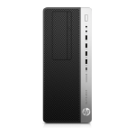 HP EliteDesk 800 G4 8th gen Intel® Core™ i5 i5-8500 8 GB DDR4-SDRAM 256 GB SSD Tower Black,Silver PC Windows 10 Pro