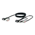 """Belkin SOHO KVM Replacement Cable Kit, VGA & USB, 6 feet KVM cable 70.9"""" (1.8 m) Black"""