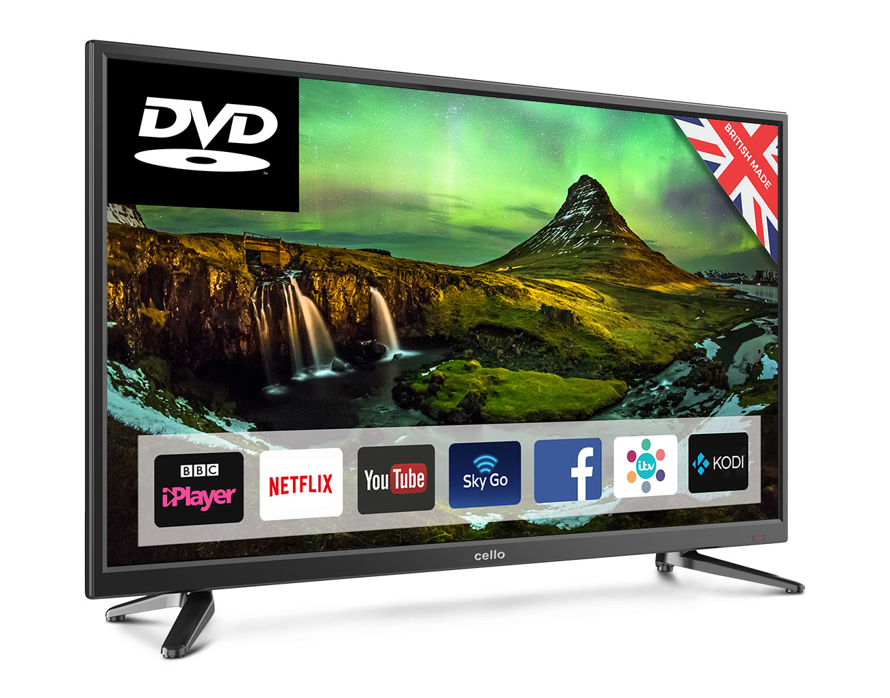 32IN LED FHD 1366X768 16:9 C32SFSD 2400:1 HDMI              IN