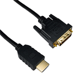 Cablenet HDMI - DVI 1m 1m HDMI DVI-D Black