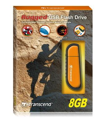 Jetflash V70 Rugged - 8GB USB Stick - USB 2.0 - Orange