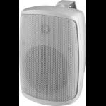 Monacor WALL-05DT loudspeaker 2-way 20 W White Wired