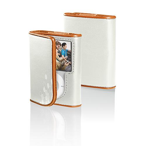Belkin Leather Folio Case for iPod nano 3G, White