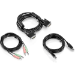 Trendnet TK-CD10 cable para video, teclado y ratón (kvm) 3 m Negro