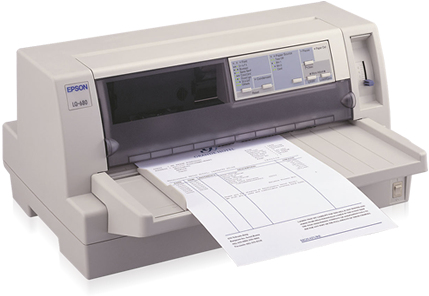 Epson LQ-680 Pro 413cps 360 x 180DPI Grey dot matrix printer