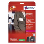 Avery L4787-20 White printer label