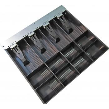 APG Cash Drawer VPK-15B-5-BX bandeja para cajón portamonedas Negro