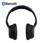 LASER Noise Cancelling Bluetooth Headphone in Matt Black