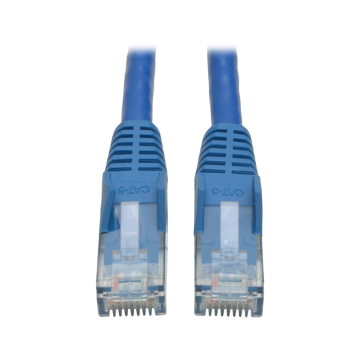 Tripp Lite Cat6 Gigabit Snagless Molded UTP Patch Cable (RJ45 M/M) - Blue, 0.61 m (2-ft.) - 50 Piece Bulk Pack