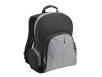 Targus 15.4 - 16 inch / 39.1 - 40.6cm Essential Laptop Backpack Black & Grey