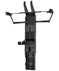 Ergotron NF Cart Vertical Laptop Kit flat panel ceiling mount Black