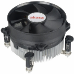 Akasa AK-CCE-7104EP Intel Socket 92mm PWM 3000rpm Ultra Quiet Fan CPU Cooler
