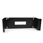 StarTech.com 4U 19in Hinged Wall Mounting Bracket for Patch Panels WALLMOUNTH4