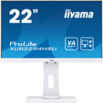 "iiyama ProLite XUB2294HSU-W1 LED display 54.6 cm (21.5"") 1920 x 1080 pixels Full HD Flat Black,White"