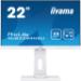 "iiyama ProLite XUB2294HSU-W1 LED display 54,6 cm (21.5"") 1920 x 1080 Pixeles Full HD Negro, Blanco"