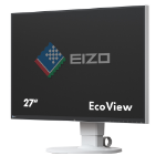 "EIZO FlexScan EV2750 27"" 2K Ultra HD IPS Matt White computer monitor"