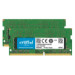 Crucial 2x16GB DDR4 módulo de memoria 32 GB 2400 MHz