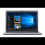 """ASUS VivoBook X542UA-GO254T 2.7GHz i7-7500U 15.6"""" 1366 x 768pixels Grey Notebook"""