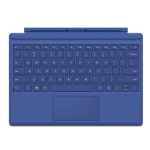 Microsoft R9Q-00012 Microsoft Cover port Blue mobile device keyboard