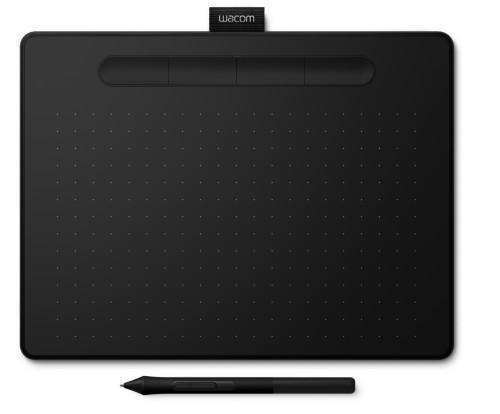 Wacom Intuos M Bluetooth graphic tablet 2540 lpi 216 x 135 mm USB/Bluetooth Black