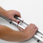 "Draper FocalPoint - 488cm x 274cm - 16:9 - 220"" Diag -  CineFlex CH1200V - Fast Fold Screen - Black Frame - Rear Complete"