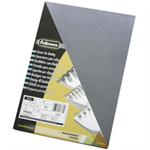 Fellowes 53762 Plastic Transparent 100pc(s) binding cover