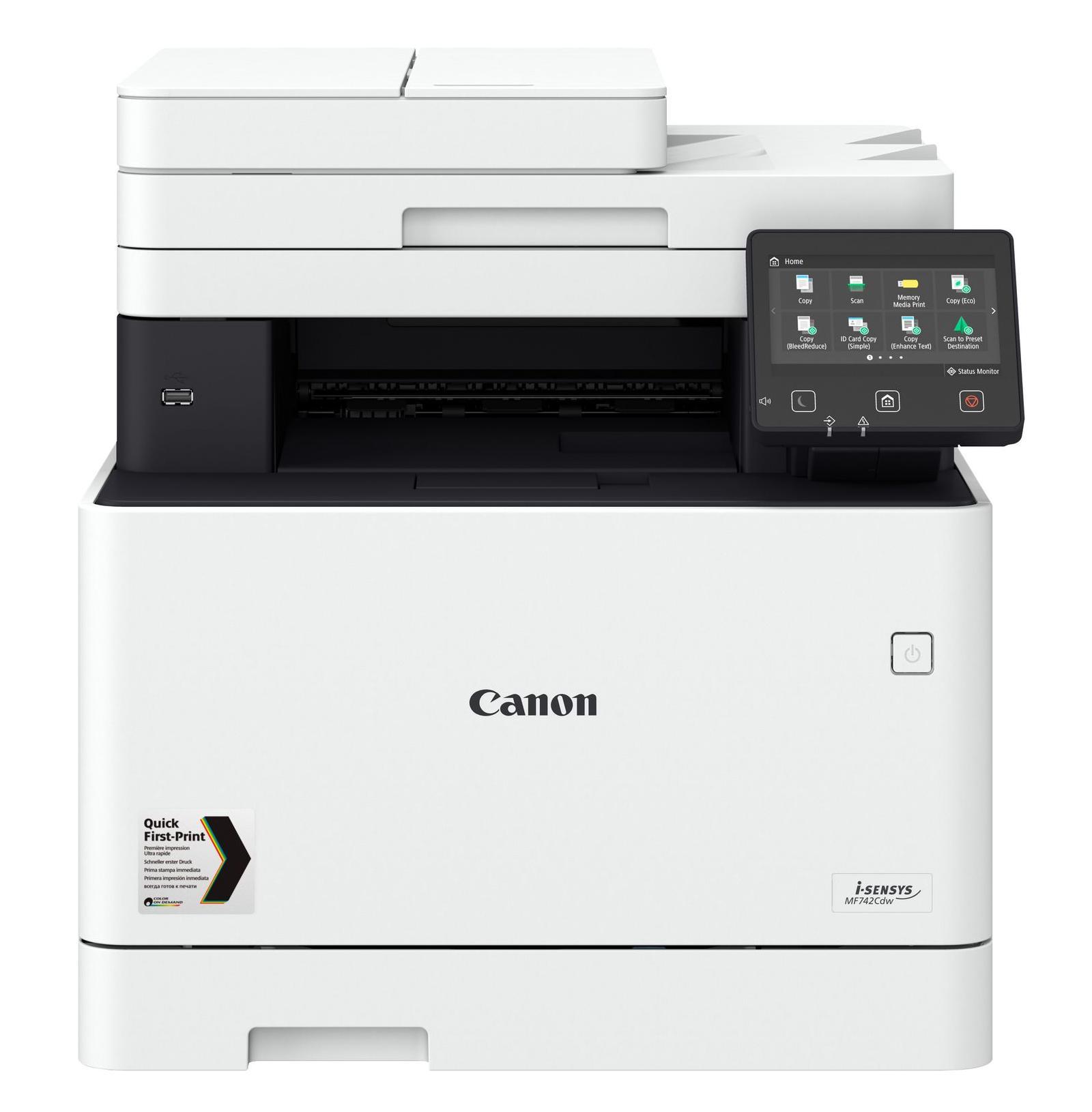 CANON I-SENSYS MF742CDW LASER 27 PPM 600 X 600 DPI A4 WI-FI