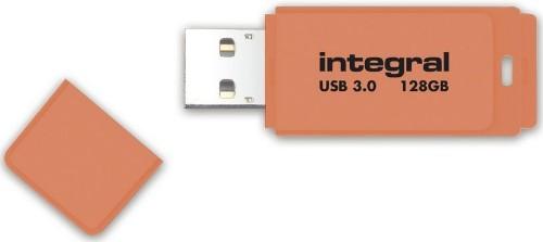 Integral NEON 3.0 USB flash drive 128 GB USB Type-A 3.2 Gen 1 (3.1 Gen 1) Orange