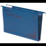 Rexel Crystalfile Classic Foolscap Suspension File 30mm Blue (50)