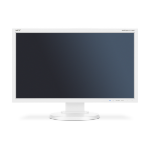 "NEC MultiSync E233WMi 23"" Full HD IPS White Flat computer monitor 60004377"